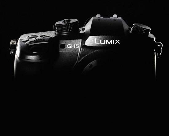 Panasonic GH5 announcement image