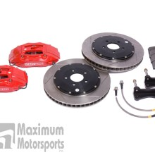 StopTech Big Brake Kit, 2005-2014 Mustang, 355mm, Red, Front