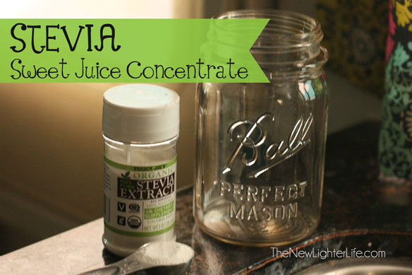 Stevia Sweet Juice Concentrate & Trim Healthy Mama