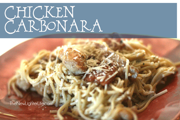 Chicken Carbonara Recipe ~ Trim Healthy Mama S