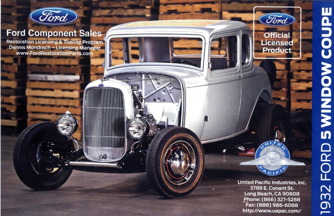 Coupe Ford 1932 Ford 5 Window Coupe Body Shell Now Available The News Wheel