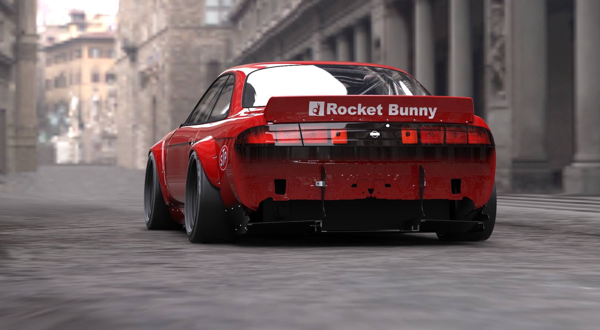 Drift Car Wallpaper Hd Rocket Bunny Body Kit Turns Your S14 Into A Plymouth Cuda