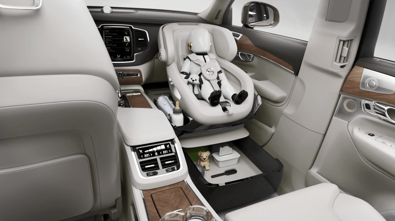 Safety Autonomous Car Volvo 39;s Excellence Child Seat Concept Delivers Bold New