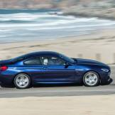 2016 BMW 6 Series Driving Fast