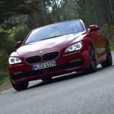 2016 BMW 6 Series driving