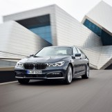 2016 BMW 7 Series Driving