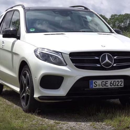 2016 Mercedes-Benz GLE-Class SUV Exterior