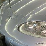 GM EV1 Electric Car at Smithsonian headlights
