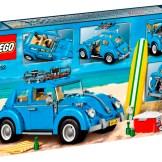 Blue VW Beetle Lego Set 10252 box back