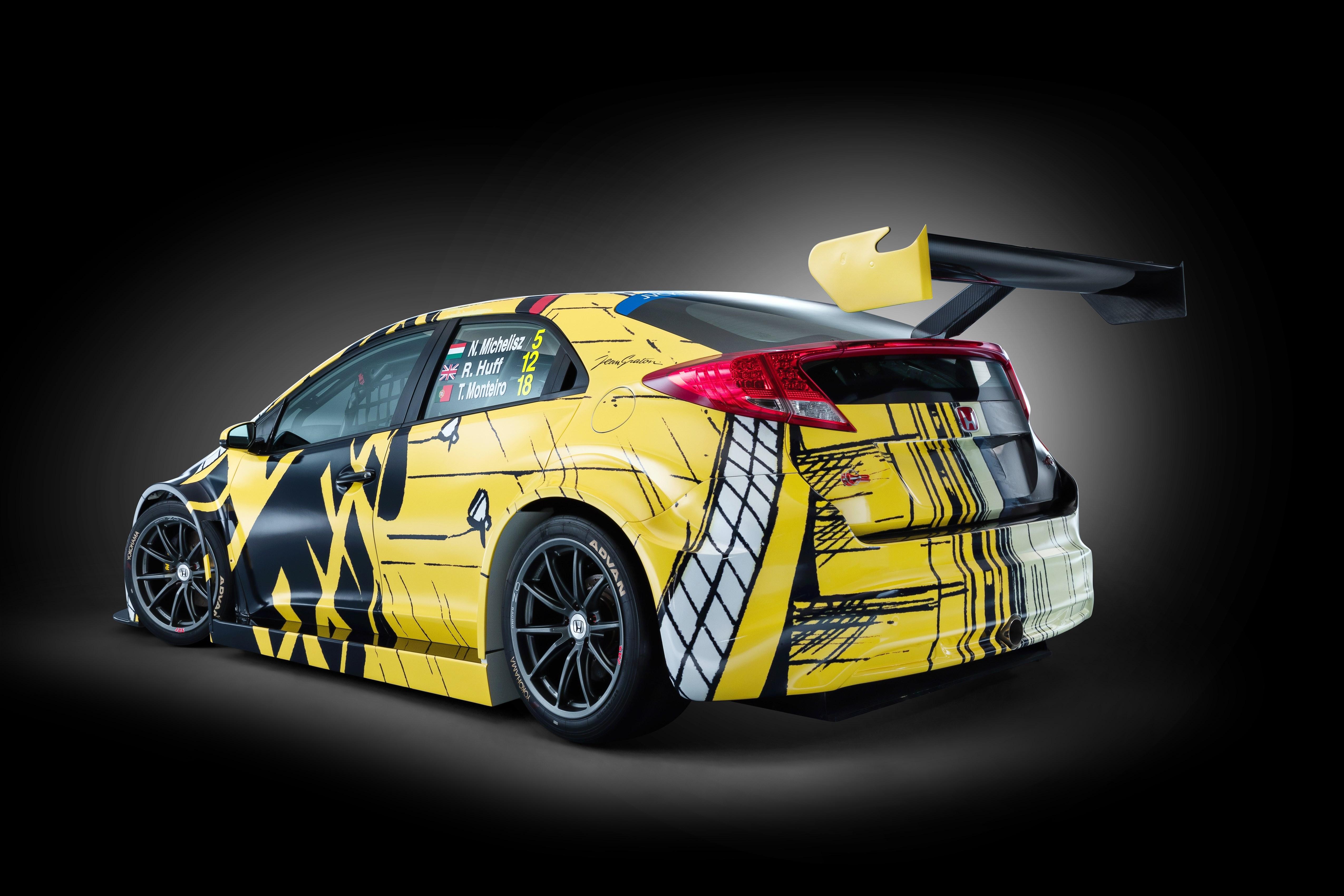 German Car Wallpaper Michel Vaillant Inspired Honda Art Car To Make Race Debut