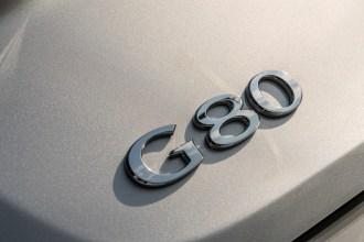 2017 Genesis G80 Overview luxury car badge