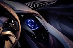 Lexus UX crossover concept 2016 Paris Auto Show controls
