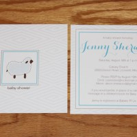 Lamb-themed baby shower (and my new etsy shop!)