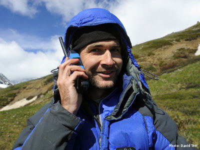 How To Communicate on Expedition - Photo: David Tett