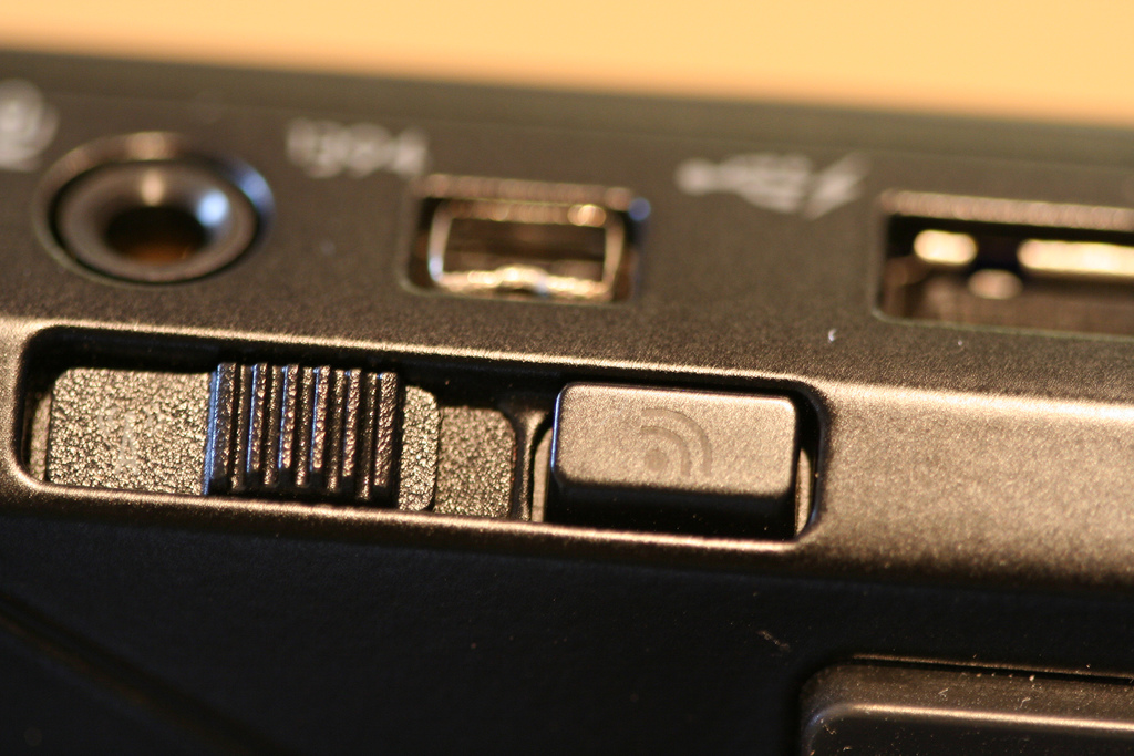 Where is the Wireless Switch on a Dell Latitude E4300