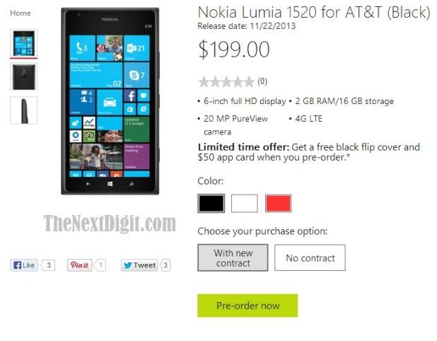 lumia-1520-pre-order-microsoft-store