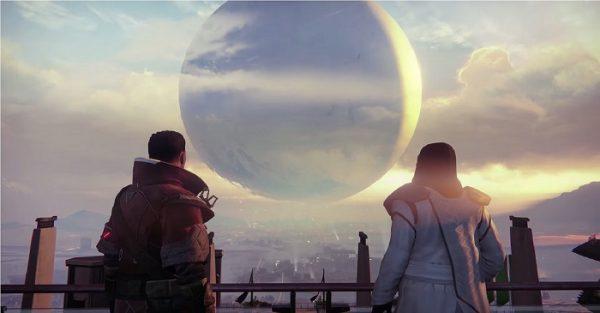 Destiny screenshot in game