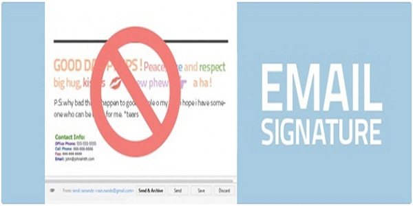 7 Do\u0027s and Don\u0027ts of Email Signature Marketing Infographic - The