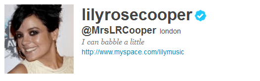 lily 12 Funny And Witty Celebrity Twitter Bios