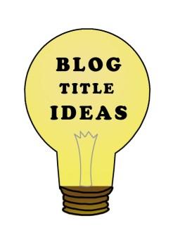 buld idea 20 Ideas To Write Catchy Blog Titles