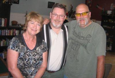 Miz Reed, me and Nick