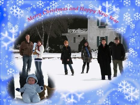 Christmas card file
