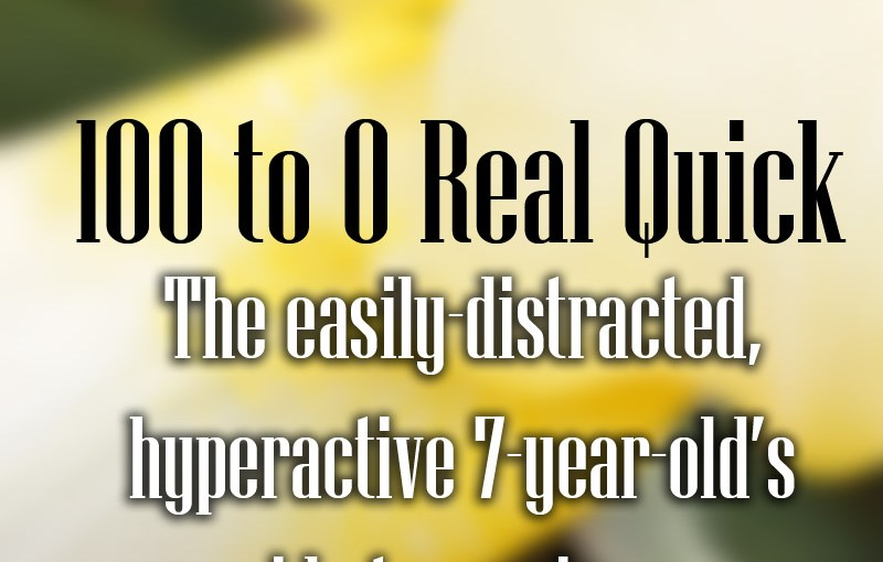 100 to 0 Real Quick: Emotional resilience through distraction