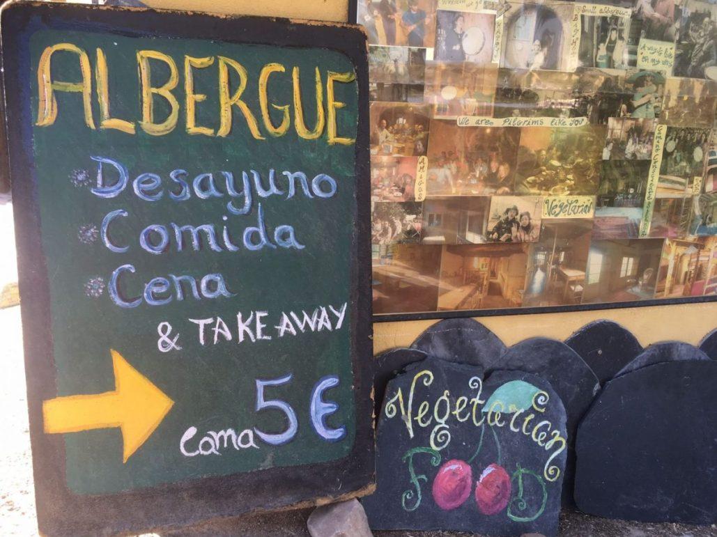 Camino pilgrims menu what to pack for walking the camino de