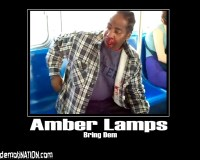 Funny Signs  Amber Lamps | Normanomicon