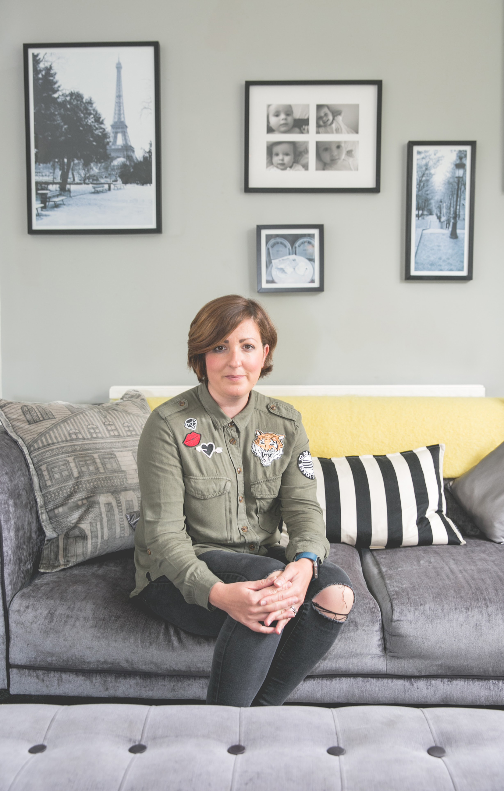 Sofa Gumtree Darlington Homes With Her Love Of Colour Lisa Hedley Has Created A Vibrant