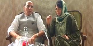 Rajnath assures alternative to pellet guns; Stone-pelting