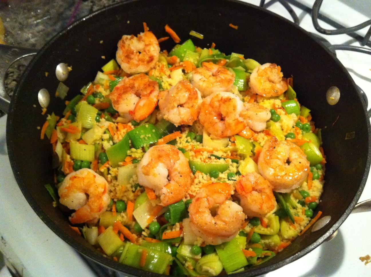 Healthy Shrimp Dinner Ideas