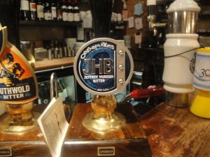 Beer Pump at Wig and Mitre