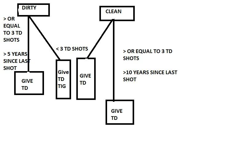 tetanus diagram