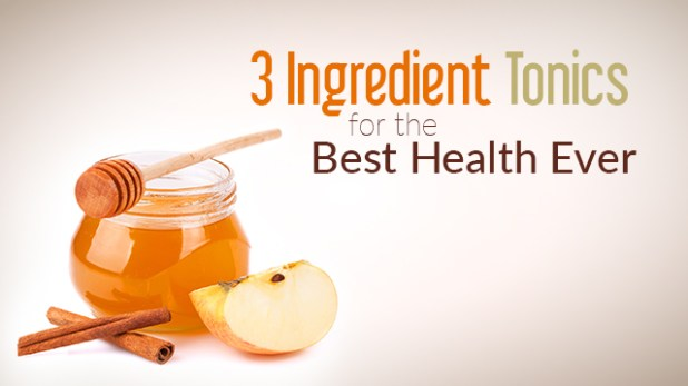 3 Ingredient Daily Drink Tonics for Your Best Health
