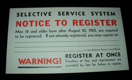 Feds Refuse To Release Obama Draft Docs To Sheriff Joe The Obama - selective service registration form