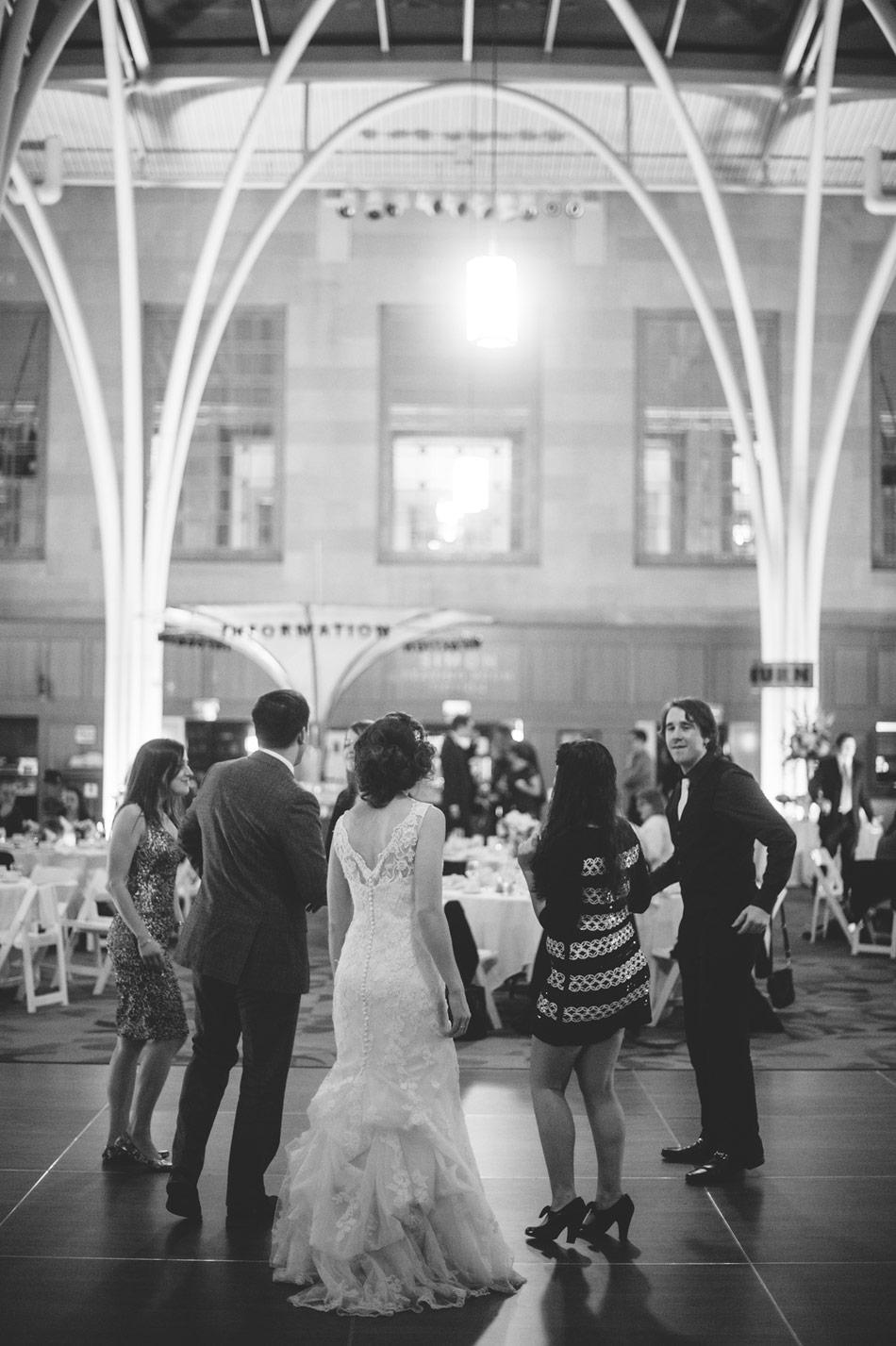 liz  u0026 james u0026 39 s indianapolis public library wedding