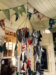 Bunting at Garden Party Gallery