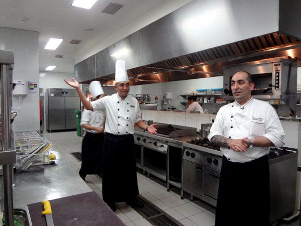 Sheraton Kuta Bali Kitchen Table