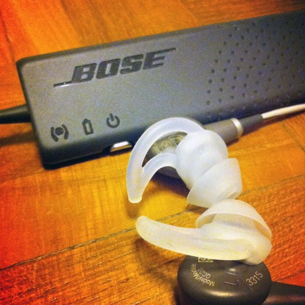 The sweet sound of silence – Bose QC20 earphones Review
