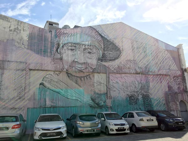 Penang Street Art - Jalan Pantai idrawalot