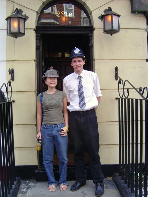 London 2005 - 221B Baker Street