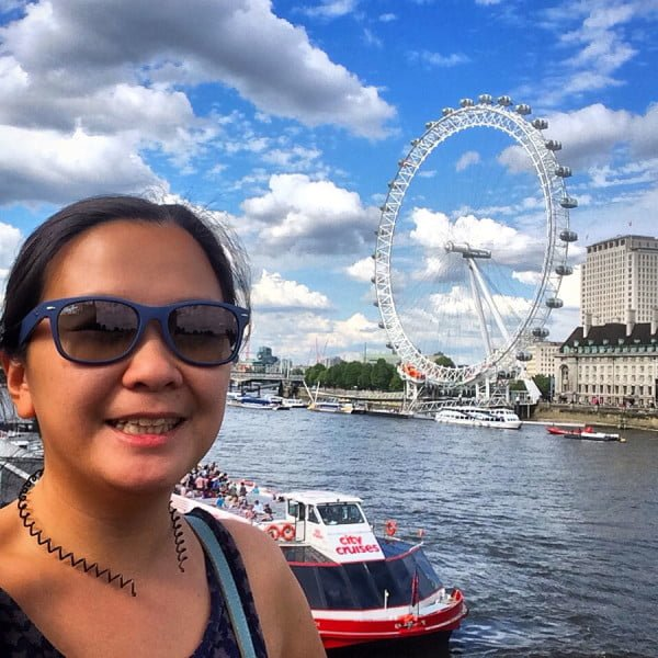 London Work Trip - Thames London Eye