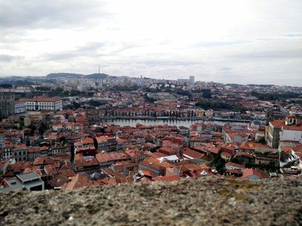 Portugal - Porto Clerigos Torre View Far
