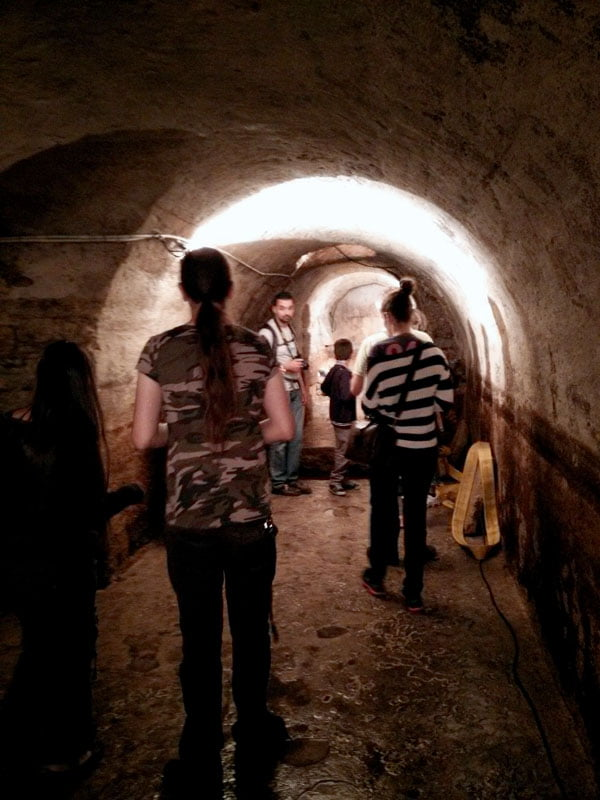 Portugal - Lisbon Roman Galleries Tunnel