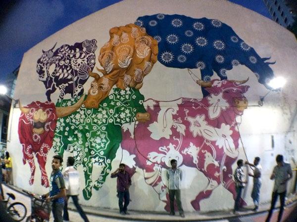 Singapore Street Art - Eunice Lim Cattleland