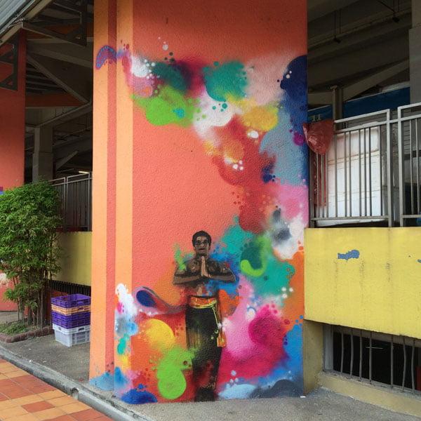 Singapore Street Art - TraseOne Classical 1