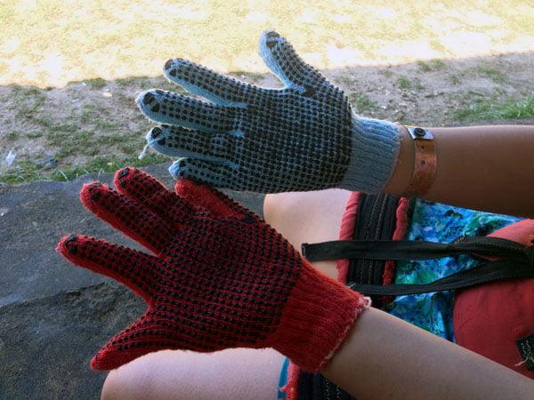 Bali Grand Mirage Resort Parasailing Gloves