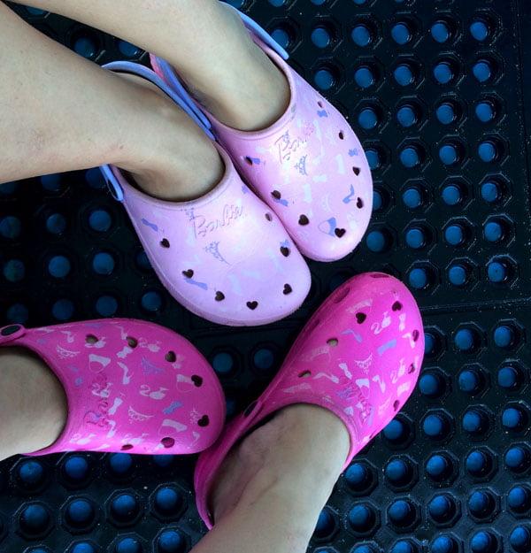 Bali Grand Mirage Resort Seawalker Pink Shoes