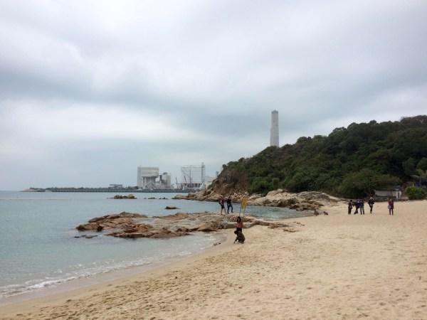 Hong Kong Lamma Island - Hung Shing Ye Beach